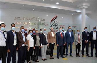 وفد من البرنامج الرئاسي يتفقد مستشفى الأورام ومركز تحيا مصر لعلاج فيروس سي بالأقصر | صور