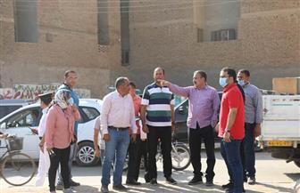 محافظ المنوفية يتفقد أعمال تطوير شوارع بشبين الكوم | صور