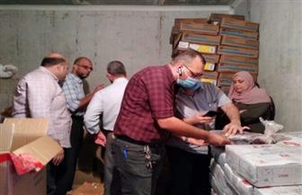 ضبط 1661.5 كجم لحوم ودواجن غير صالحة للاستهلاك الآدمي بكفر الشيخ |صور