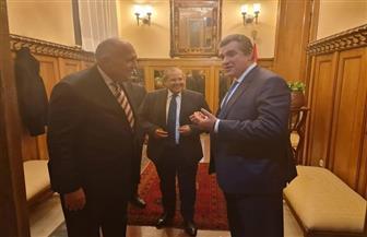 سامح شكري يستقبل رئيس لجنة العلاقات الخارجية بالبرلمان الروسي