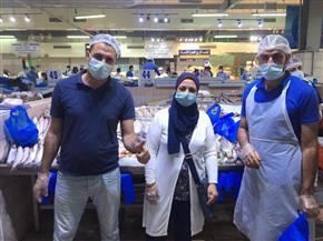 «القوى العاملة» تتابع أحوال المصريين بأبوظبي | صور