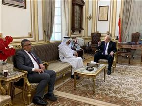 الخشت يلتقي مدير مؤسسة محمد بن راشد للمعرفة.. ويؤكد: تعزيز آفاق التعاون المشترك