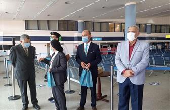 مطار مرسى علم يستقبل أول رحلة من فرنسا بعد توقف 7 أشهر