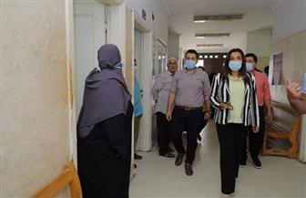 محافظ دمياط تتفقد مركز سعد الطبي بالشعراء | صور