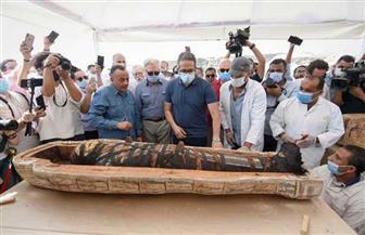 59 تابوتا وعشرات المومياوات حصيلة الكشف الأثري الجديد بسقارة | صور