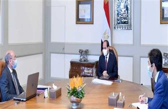 الرئيس السيسي يجتمع مع وزير العدل لمناقشة جهود تطوير منظومة التقاضي