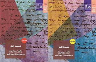 """بعد 20 عاما من صدوره.. قصور الثقافة تعيد نشر """"قصيدة النثر.. منذ بودلير حتى الوقت الراهن"""""""