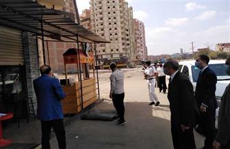 محافظ كفر الشيخ يتفقد أعمال الرصف وطريق دسوق المزدوج والموقف العمومي| صور