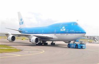 تفتيش طائرة لشركة الخطوط الجوية الهولندية بعد تهديد بوجود قنبلة