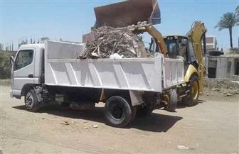 رفع 85 طن مخلفات صلبة وقمامة من قرى المراغة | صور