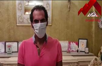 أنور الكموني بطل التنس الأرضي يطالب بارتداء الكمامات لمواجهة فيروس كورونا |فيديو