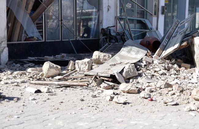 زلزال بقوة   درجة يضرب اليونان وأضرار جسيمة بالمباني