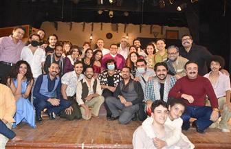 """وزيرة الثقافة تشهد عرض """"أفراح القبة"""".. وتؤكد: المسرح يؤرخ للمجتمع   صور"""