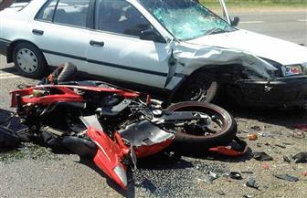 مصرع وإصابة شخصين فى حادث تصادم على الزراعي الشرقي بسوهاج