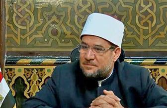 وزير الأوقاف: مصر في عهد الرئيس السيسي نموذج للتعايش بين الأديان على أسس وطنية