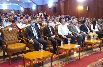 غزل المحلة تحتفل بصعود فريقها إلى الدوري الممتاز بحضور وزير قطاع الأعمال| صور وفيديو