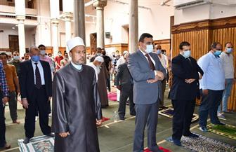 نائب محافظ الفيوم يفتتح مسجد عبدالله وهبي بعد تطويره بتكلفة 400 ألف جنيه| صور