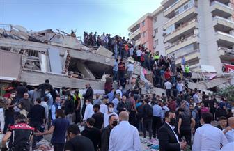 تركيا تعلن حصيلة أولية لقتلى وجرحى زلزال أزمير