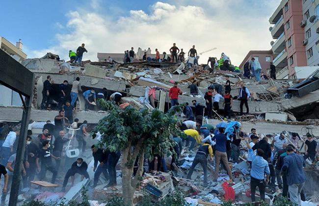 زلزال «إزمير يكشف هشاشة العقارات التركية وزيف ادعاءات أردوغان بالنهضة العمرانية