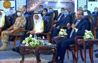 الرئيس السيسي يشهد افتتاح جامعة الملك سلمان الدولية برأس سدر