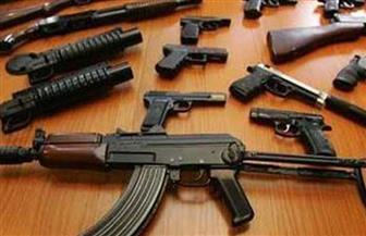 ضبط 10 قطع أسلحة نارية في حملة أمنية بأسيوط