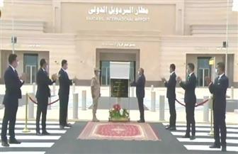 تعرف على المشروعات القومية والتنموية التي افتتحها الرئيس السيسي بجنوب سيناء