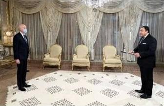 سفير مصر لدى تونس يقدم أوراق اعتماده للرئيس التونسي| صور