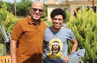 محمد فهيم: سعيد بعملي مع أشرف عبد الباقي وهشام الشافعي في «سقراط ونبيلة» | صور