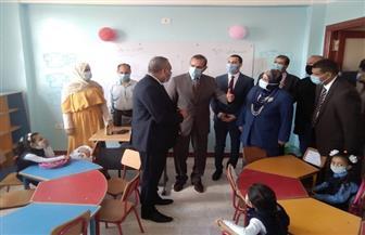 محافظ كفرالشيخ يفتتح مدرسة محمود السيد شحاته للتعليم الأساسي بقرية الحشاشية   صور