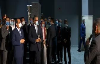 الرئيس السيسي يتفقد صالات العرض بمتحف شرم الشيخ