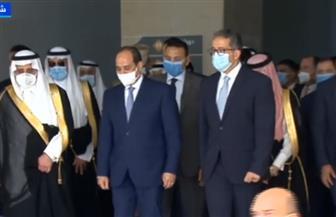 الرئيس السيسي يختتم جولته التفقدية بمتحف شرم الشيخ