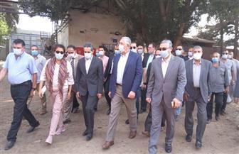 وزير الزراعة يتفقد مشروعا للصوب الزراعية ومصنعا لعجينة الياسمين بقطور | صور