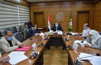 «الشيخ» يترأس اجتماع لجنة مراجعة العقارات بالدقهلية