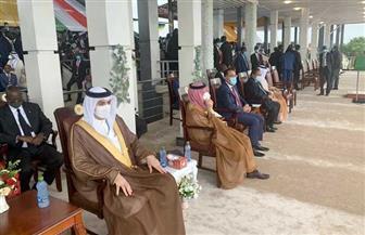 سفير مملكة البحرين بالقاهرة يشارك في مراسم التوقيع على اتفاق السلام بالسودان