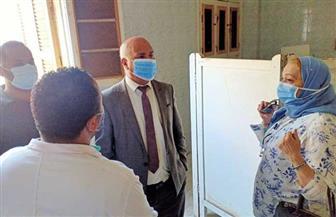 الكشف على 800 مواطن حصيلة القافلة الطبية بشبرا ملس فى الغربية| صور