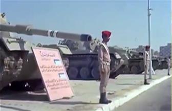 ننشر فيديو نادرا لأول «استعراض نصر» لقواتنا المسلحة بعد الحرب