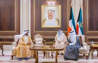 محمد بن راشد يقدم واجب العزاء لأمير الكويت في وفاة الشيخ صباح الأحمد