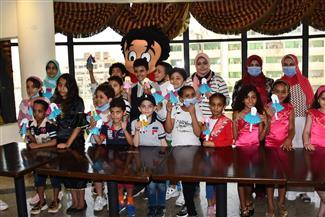 «علاء الدين» تحتفل بذكرى انتصارات أكتوبر في ورشتها الفنية | صور