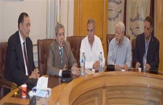 انتخاب «الزيني» رئيسا للشعبة العامة لمواد البناء.. و«رضيوي» و«فوزي» نائبين أول وثان