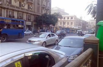 كثافات مرورية بعدد من محاور وميادين العاصمة| صور