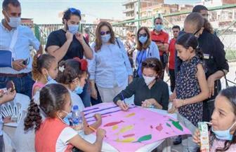 """""""الإسكندرية"""" تطلق أولى فعاليات مبادرة """"حكاية كتاب"""" بقرية أبيس الثانية"""