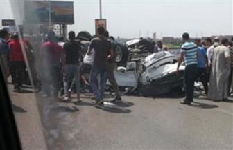 مصرع وإصابة 7 في حادث تصادم بالشرقية