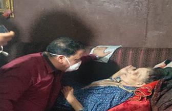 تضامن الغربية تتدخل لرعاية مسنة حبسها ابنها داخل المنزل عاما طمعا في المعاش | صور