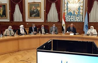 محافظ القاهرة يستقبل وفدا من ممثلي البرنامج الرئاسي لتأهليهم للقيادة التنفيذية | صور