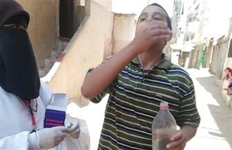 «صحة الغربية» تطلق الحملة القومية لتجريع المواطنين ضد البلهارسيا   صور
