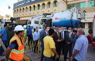 محافظ كفر الشيخ: لدينا خطة لمواجهة الأمطار والسيول في المناطق الأكثر تضررا| صور