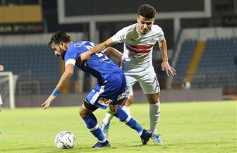 """التعادل الإيجابي ينهي الوقت الأصلي من لقاء الزمالك وسموحة بـ""""كأس مصر"""""""