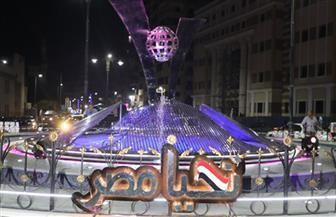محافظ المنوفية يفتتح ميداني «السادات» و«تحيا مصر» بشبين الكوم بعد انتهاء أعمال التطوير| صور