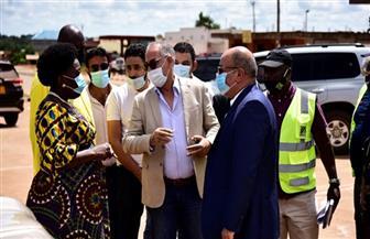 رئيسة مجلس النواب بأوغندا تزور مشروعات المقاولون العرب|صور