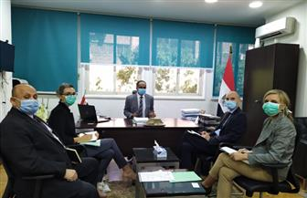 نائب وزير الإسكان يلتقى ممثلى السفارة الفرنسية بمصر لمناقشة تطورات مشروع إعادة استخدام المياه|صور